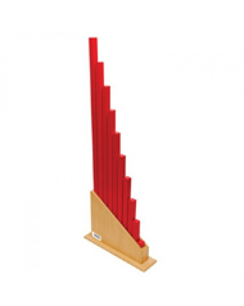 Red Rods With Stand