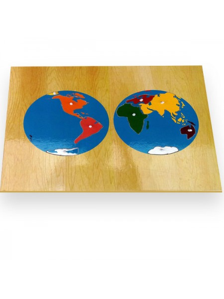 Continent  Map Puzzle