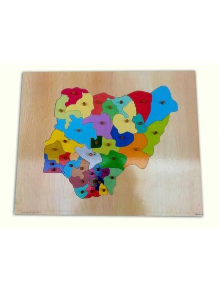 Nigeria Map Puzzle